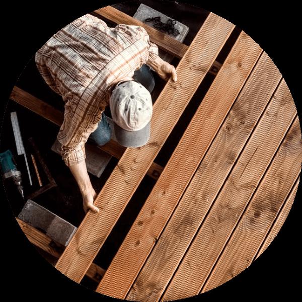 Pallc decks and fences