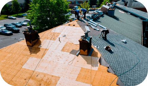 roof replacement in Maryland